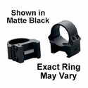 "PRW Rings - 1"" Medium Black Matte"