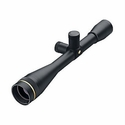 FX-3 Riflescopes - 25x40mm Adjustable Objective Silhouette Matte 1/2 Leuplod Dot