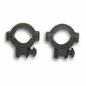 "30mm Rings - 3/8"" Dovetail 1"" Inserts Black"