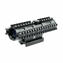 Tactical 3-Rail Sighting System - 4x32/Mil-Dot/Blue/Weaver Mount