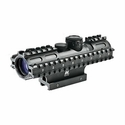 2-7x32 Scope/3-Rail/Blue Illuminated P4/Green/Weaver Mount