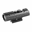 Tactical 3-Rail Sighting System - 3-9x42/Blue Illuminated P4/Weaver Mount