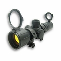 Rubber Tactical-Double Illumination Series Scope - 3-9x42 Red/Green Illuminated Reticle  Ruby Lens
