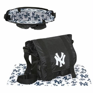 New York Yankees MLB Sitter Baby Diaper Bag