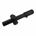 Tactical Riflescope - 1-5x24 Illuminated  Intermediate Rings
