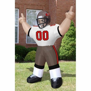Tampa Bay Buccaneers NFL Inflatable Tiny Player Lawn Figure (96 Tall)