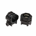 Tactical Rings - High 6 Point Matte Black