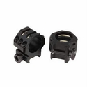 Tactical Rings - Extra High 6 Point Matte Black
