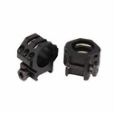 Tactical Rings - 30mm High 6 Point Matte Black