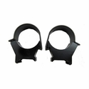 Detachable Top Mount Rings - 30mm High Matte  Black