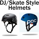 Dirt Jump Helmets / Skate Style Mountain Bike Helmets