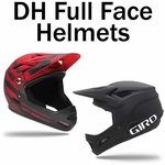 Downhill / Full Face Mountain Bike Helmets