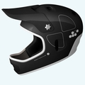 POC Cortex Flow Full Face Helmet for MTB / BMX / Ski / Snowboard