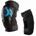 SixSixOne Rage Hard Shell Knee Guards (Pair)