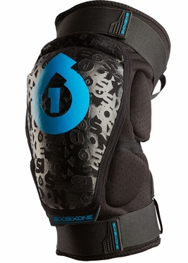 SixSixOne Rage Soft Shell Knee Guards (Pair)