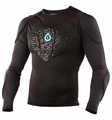 SixSixOne SubGear Padded Shirt, Long Sleeve