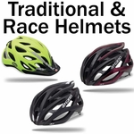 Traditional & Race Style Mountain Bike Helmets