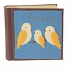 3 Birds Felt Patch Personalized Photo Album