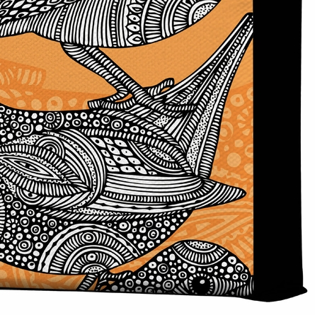 3 Little Birds Wrapped Canvas Art