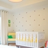 3-Piece Slat Bumper Crib Bedding Set in Sunshine Yellow