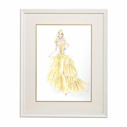 50th Anniversary Framed Couture Barbie Art Print