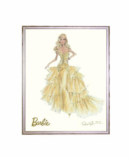 50th Anniversary Limited Edition Barbie Print