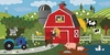 A Day on the Farm Canvas Wall Art