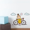 A Fine Day For a Ride Wall Decal