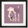 A Long Day At The Park Framed Art Print