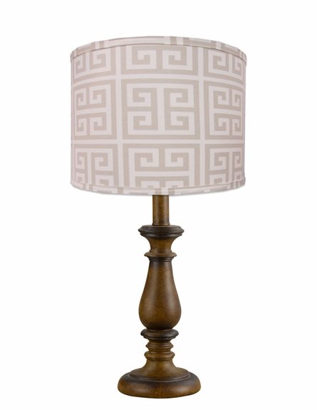 A'Mazing Khaki Lamp Shade
