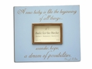 A New Baby Picture Frame in Blue