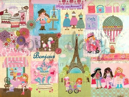 A Piece of Paris Canvas Wall Art