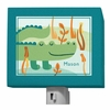 A through Z Animals Alligator Night Light