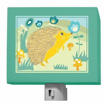 A through Z Animals Hedgehog Night Light