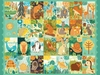 A through Z Animals Placemat