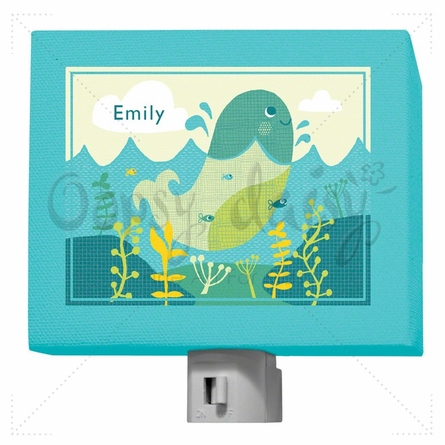 A through Z Animals Whale Night Light