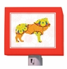 A to Z Animal Prints Lion Night Light
