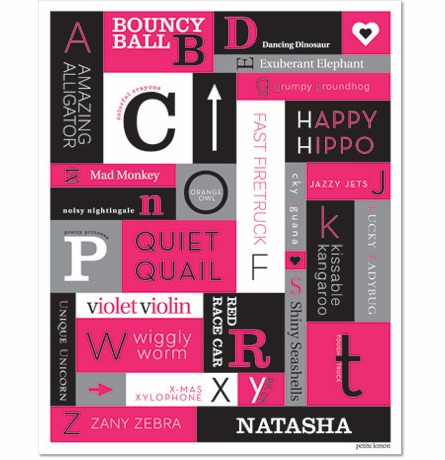 A to Z Personalized Art