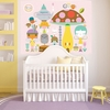 A Very Fairy Topiary Mural Wall Decal