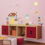 A Very Fairy Topiary Peel & Place Wall Stickers