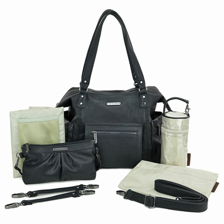 Abby Diaper Bag - Black
