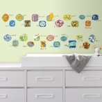 ABC Animal Wall Decals