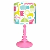 ABC Animalia Pinks Lamp