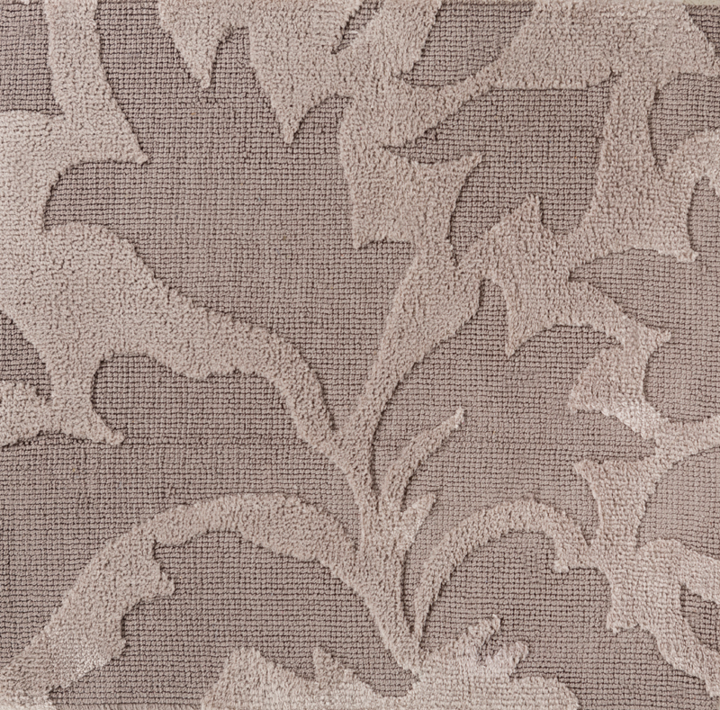 Damask Taupe Rug: Abigail Damask Rug In Taupe By Surya