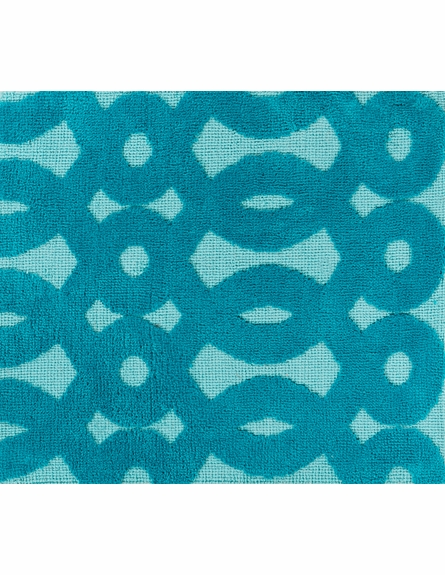Abigail Loops Rug in Aqua