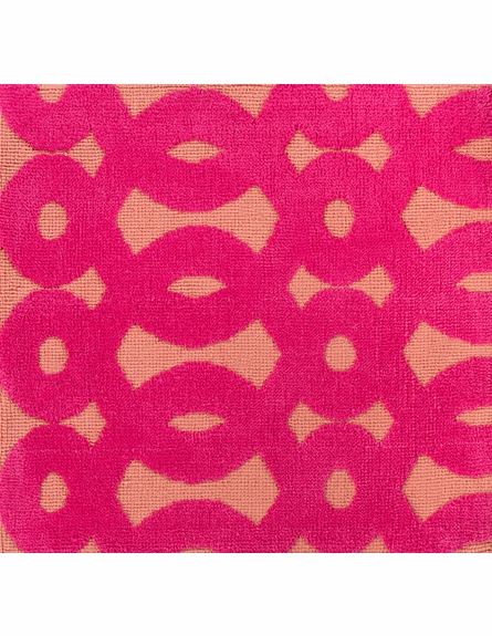 Abigail Loops Rug in Hot Pink