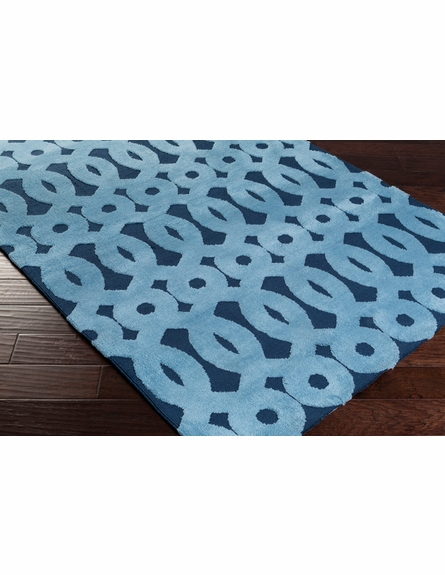 Abigail Loops Rug in Navy