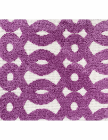 Abigail Loops Rug in Plum