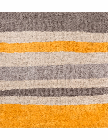 Abigail Striped Rug in Yellow