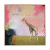 Abstract Giraffe Framed Wall Art